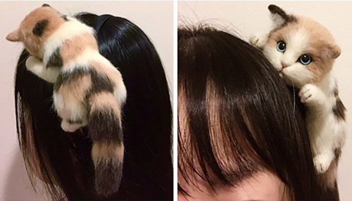 japanese kitty headband